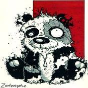 Image of Zombie Panda Print