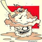 Image of Zombie Cupcake Print