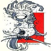 Image of Zombie Cockatoo Print