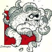Image of Zombie Octopus Print
