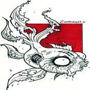 Image of Zombie Goldfish Print