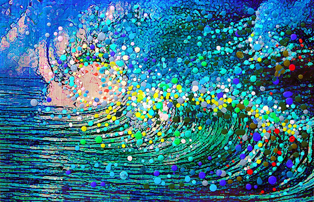 The Energy Art Store By Julia Watkins The Wave The