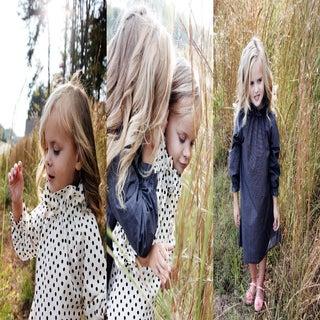 Image of the ASPEN ruffle dress PDF PATTERN