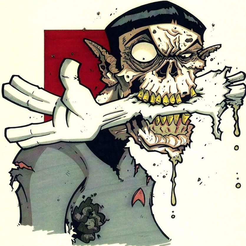 ZombiePETZ — Zombie Spock Print
