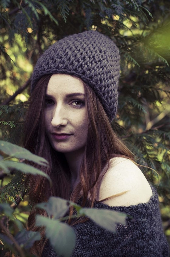 Image of East Side Slouch Hat - grey