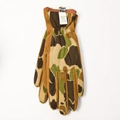 Image of GORE-TEX Camouflage & Suede Work Gloves