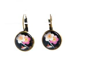 Image of Dormeuses 'Sakura' fleurs du Japon