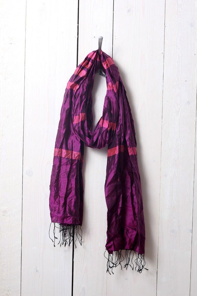 Image of Schal aus Seide · stripe #1 · was 60 Euro