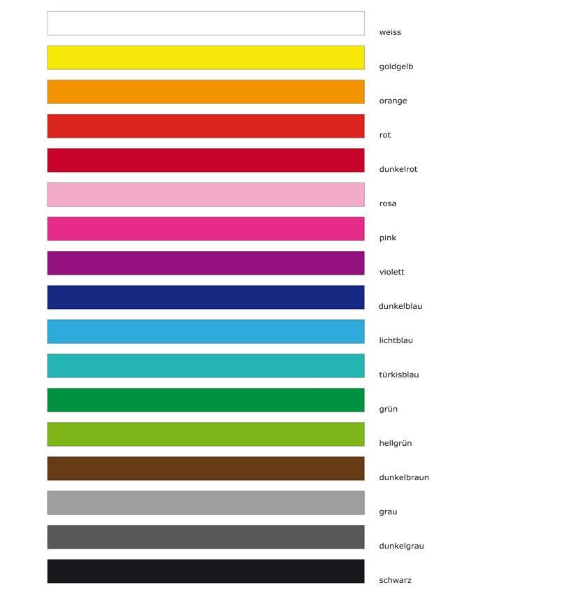 Image of Wandaufkleber 12 Kleine Freunde in zwei Farben