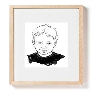 Image of Custom Portrait of One