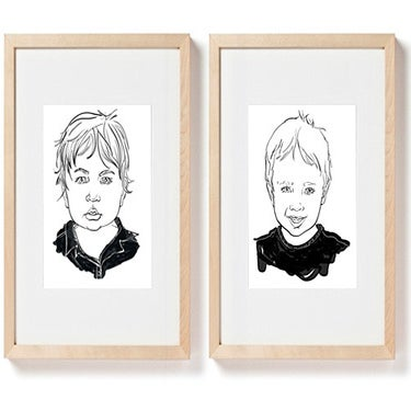 Image of Two Custom Portraits