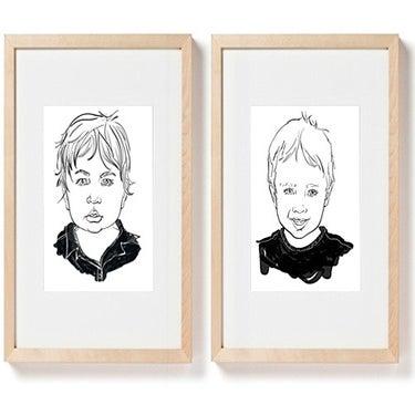 Image of Two Custom Portraits