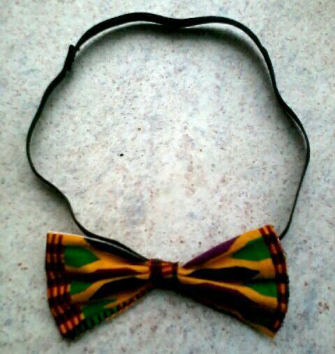 Image of Vekras Unisex Kente Bow-tie