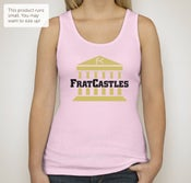 Image of Ladies's Pink Tank Top