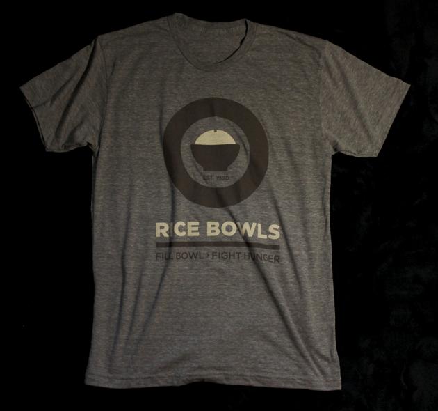 Image of Rice Bowls Logo Tee