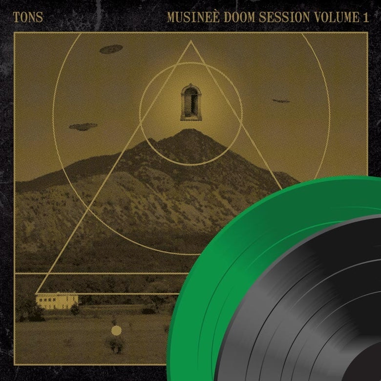 "Image of TONS ""Musineè Doom Session, Volume 1"" Vinyl Lp"