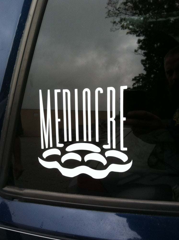 Image of mediocre decal 2012