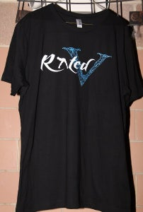 "Image of Men's ""Rated V Logo"" T-Shirt"