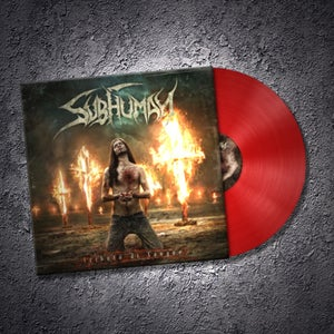 Image of Subhuman - Tributo Di Sangue -  LP - Dark Red Colored