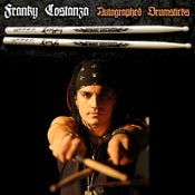 Image of Franky COSTANZA 1 Autographed Pair of Drumsticks