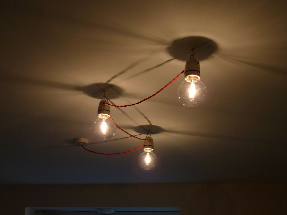 Image of Festoon Ceiling Light Set