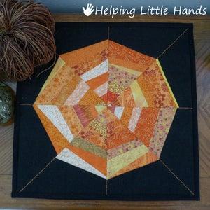 Image of 14x14 Larger Mini-Spiderweb Quilt