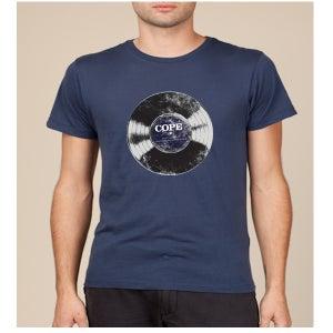 "Image of Clarence Greenwood Recordings ""Vinyl"" Tee"
