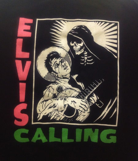 Image of ★ Elvis Calling      (first album parody)