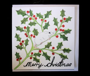 Image of Mouse Christmas Card