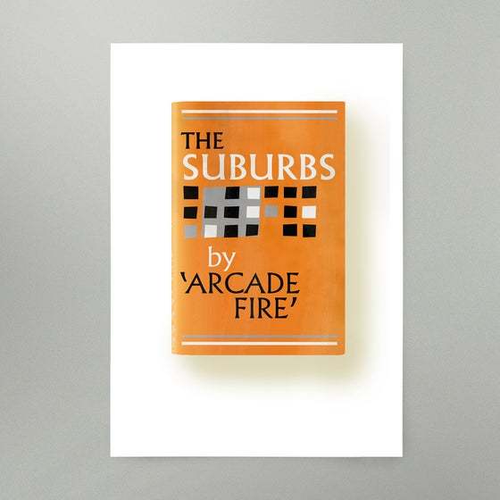 Image of The Suburbs Art Print