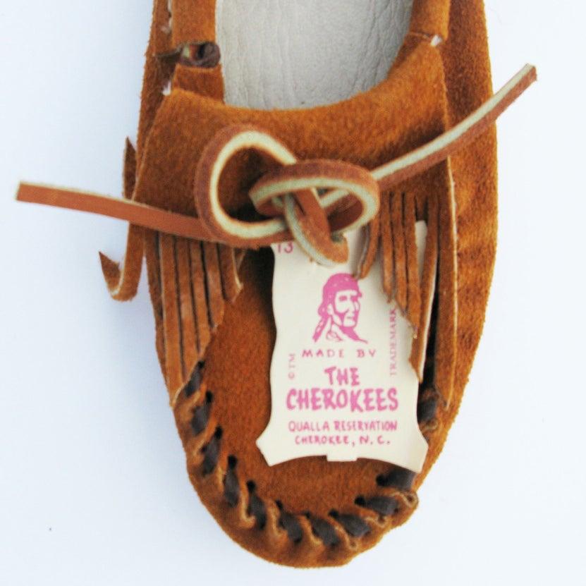 Image of Cherokee Handmade Moccasins