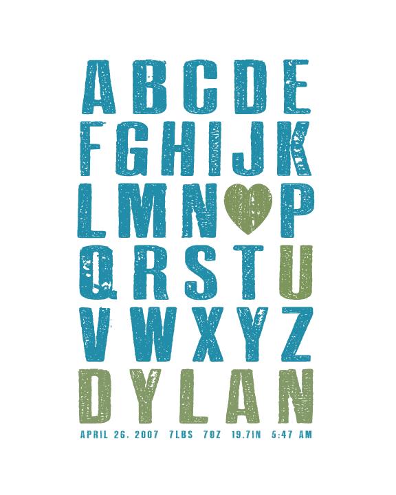 Alphabet KID - HOUSE15143