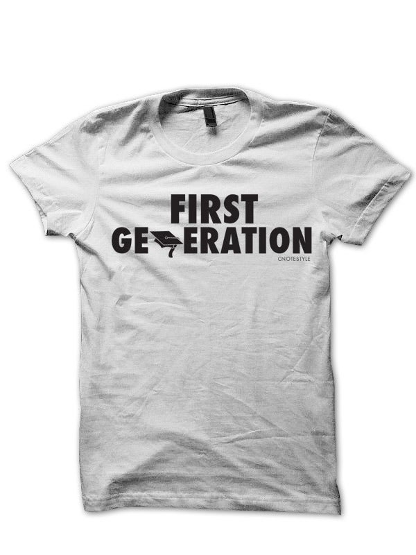 """Image of """"First Generation"""" - Men's & Women's Graphic Tee Shirt"""
