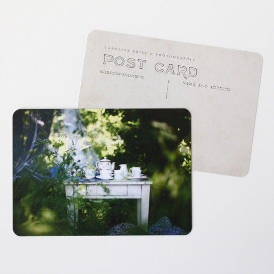 """Image of Carte postale """"L'heure du thé"""""""