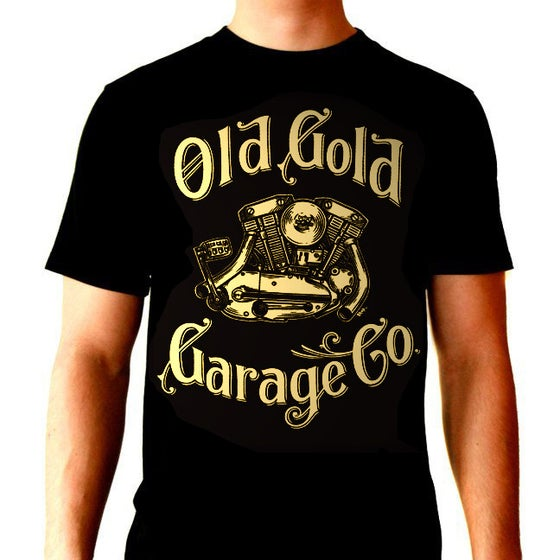 "Image of Old Gold ""Ironhead"" T-shirt"