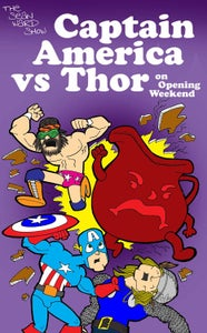 Image of Captain America VS Thor On Opening Weekend