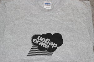 Image of Degenerate 'Cloud' logo t shirt GREY