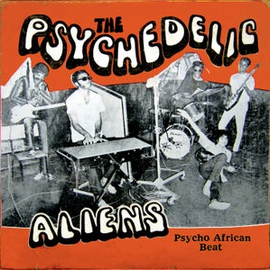 "Image of The PSYCHEDELIC ALIENS - Psycho African Beat 4 x 7"" BOX SET"