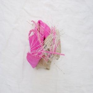 Image of hot pink & tan