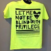 Image of Fluorescent Yellow Privilege t-shirt