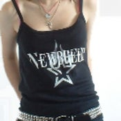 Image of NewBreed Logo Girls Strap T-Shirt