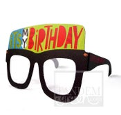 Image of Original Card Glasses-It's my birthday!