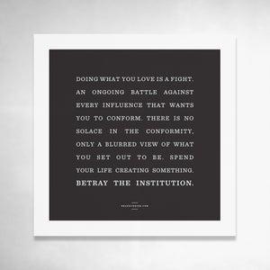 Image of Manifesto 9x9