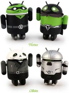 Image of Android Heroes y Villanos
