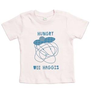 "Image of ""Hungry Wee Haggis"" Organic Baby Tee"