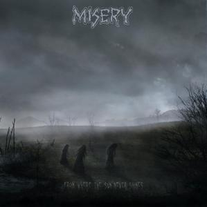 Image of MISERY - From Where the Sun Never Shines 2xLP