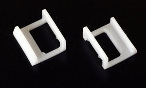 Image of Jobo 07083 White retaining clip (pair) NEW!