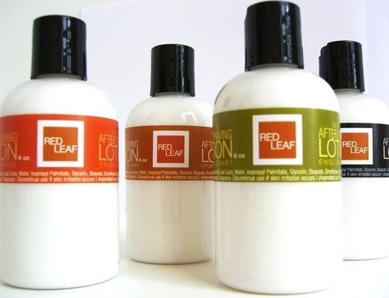 Image of Red Leaf Mens After Shaving Lotion Balm With Aloe Vera