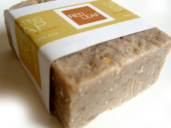 Image of Exfoliating Soap Bar Soap Scrub