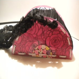 Image of Colored Vinyl Record Purse C